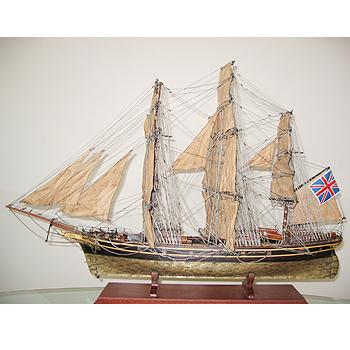 【送料無料】帆船模型 夢住緑「カティーサーク・カッパー(L)」(代金引換はご利用できません)