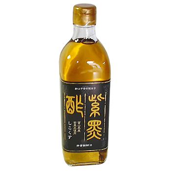 今川酢造 紫黒酢(しこくす) 500ml 12本/ケース入り