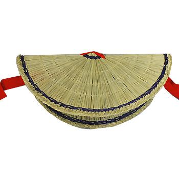 定番から日本未入荷 踊りに使う編み笠 おわら風の盆に欠かせない風景です おわら風の盆 最新 男女兼用 2個セット おわら編笠