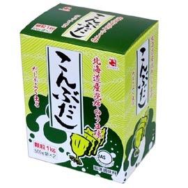 各種調味料 高品質新品 昆布 送料無料(一部地域を除く) かつお節をバランスよく配合 かね七 こんぶだし こんぶの旨味と香り 500g×2袋 1kg