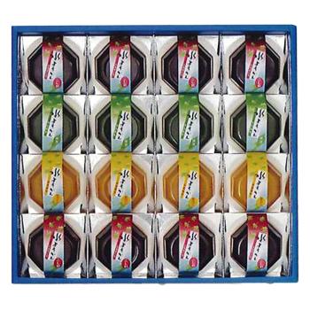 京伏見菓匠 和晃「水ようかん 16個入」 3種のなめらかで薫り豊かな水ようかん ※季節商品※