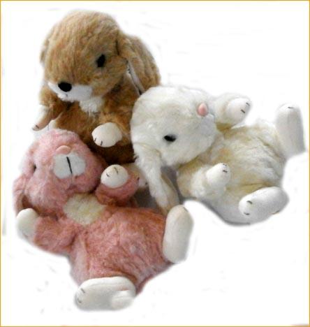 Hydi Knackered Plush Lop Ear Bunny Rabbit Stuffed Animal Baby Plush
