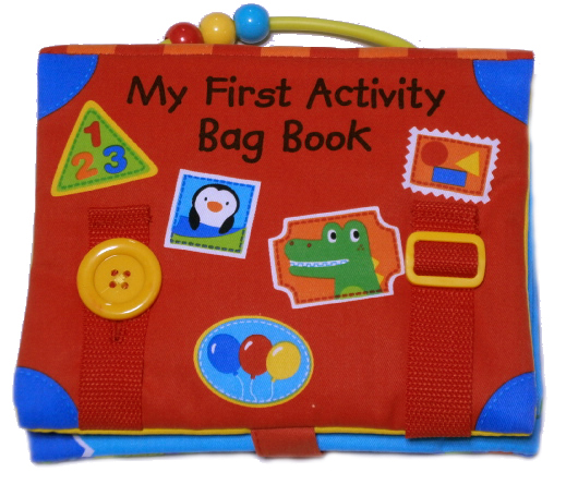 Hydi Cloth Picture Book Baby Cloth Book First Activity Books