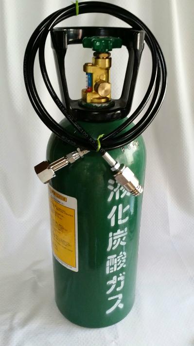 ソーダストリーム ボンベセット (接続アダプターホース1.5m+炭酸ボンベ)