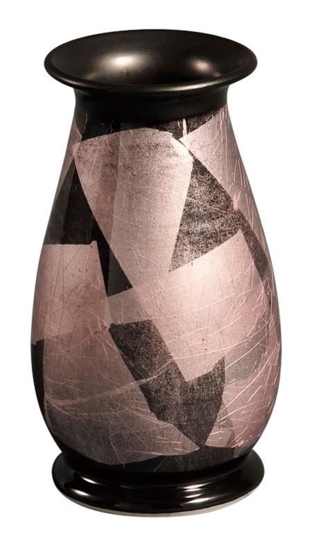 【送料無料】彩九谷焼花瓶 [銀彩躑躅(つつじ) 6号] 花瓶 九谷焼 陶磁器製 かびん