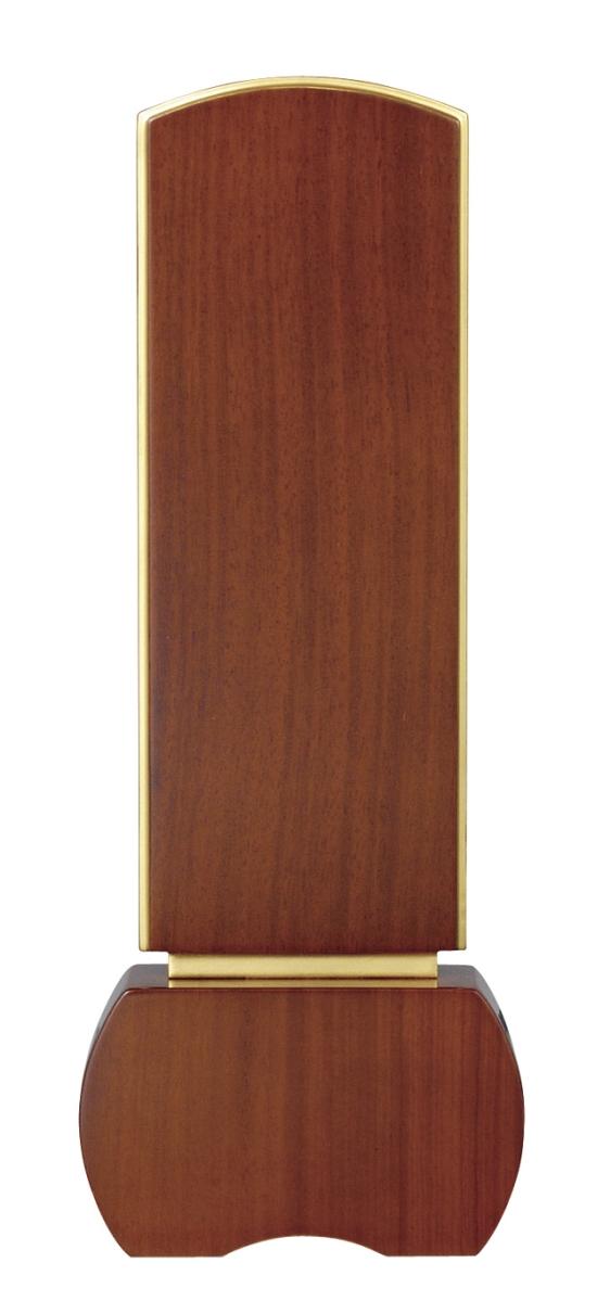 【送料無料】 新世紀位牌 優徳ブラウン (商品サイズ 3.0寸 総高さ13.5cm) (寸法表をご覧下さい。)