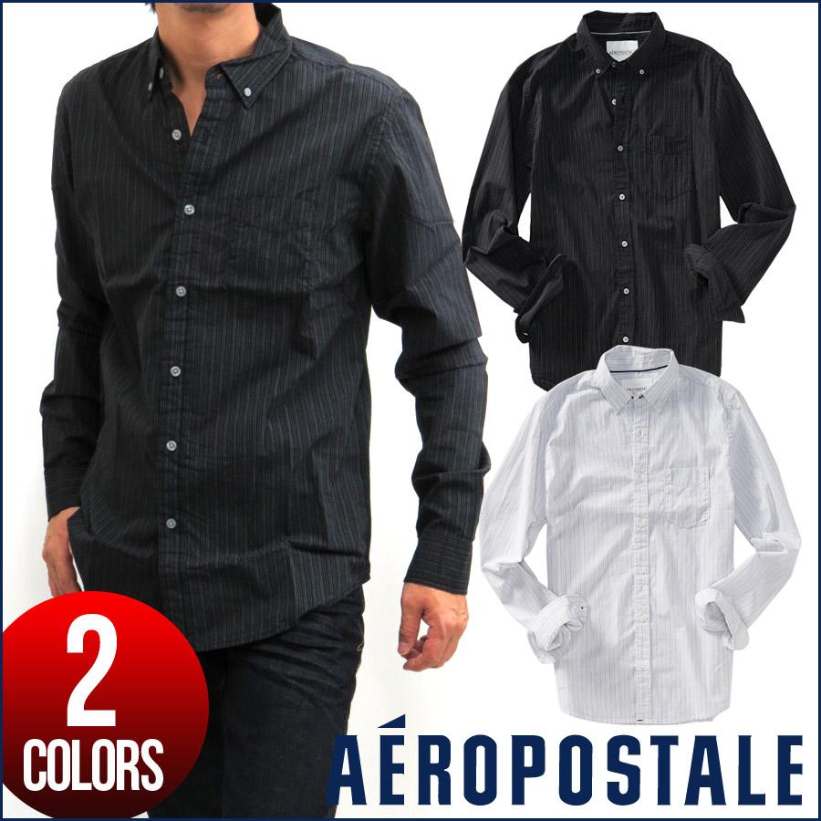 cca1afd057e Aeropostale button-down shirts men's casual shirt striped shirt long sleeve  shirt tops mensamecasifashion 6234-4975-001/6234-4975-102 2 colors ...