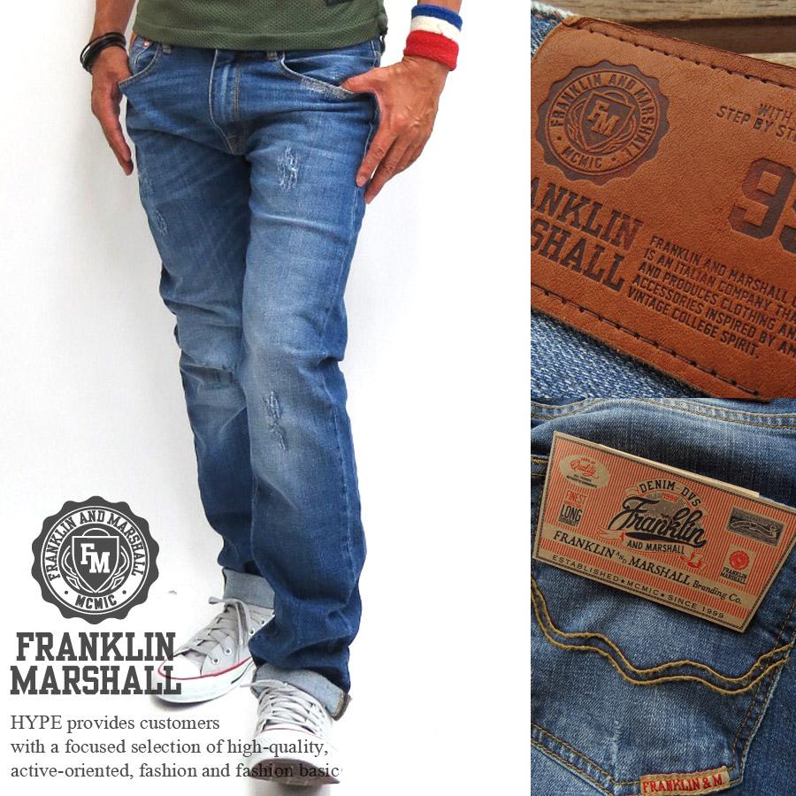 Outlet Wide Range Of Sale How Much DENIM - Denim trousers Franklin & Marshall Marketable For Sale jVGpkVr4