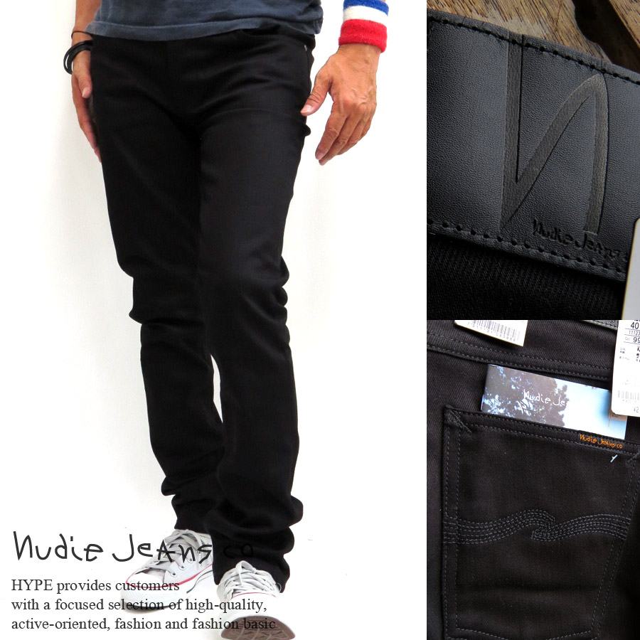 fe3ce1e1 Nudie Jeans Nudie jeans mens Grim Tim slim straight denim bottoms long  40161-1020 Grim ...