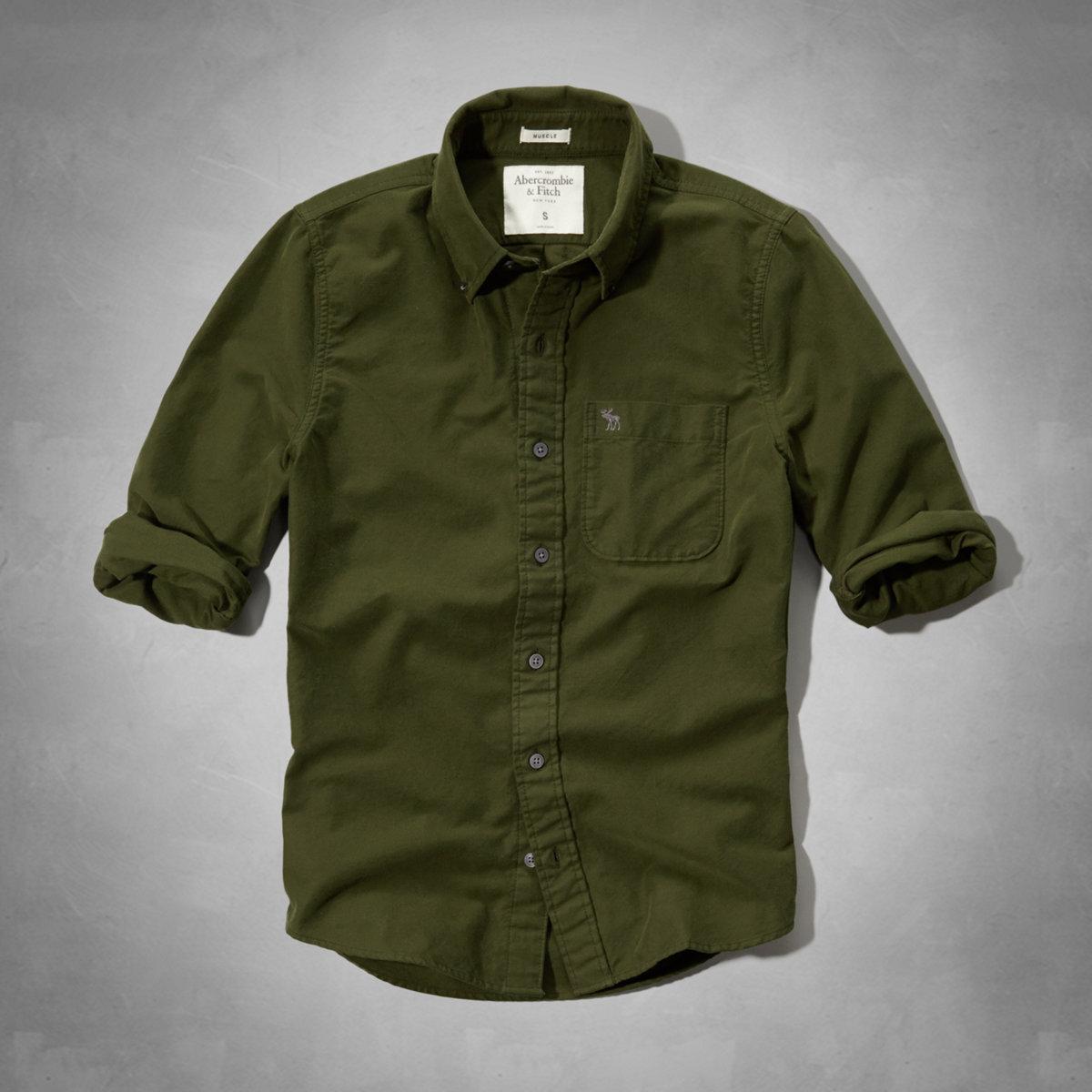 hype   Rakuten Global Market: Abercrombie casual shirt mens ...