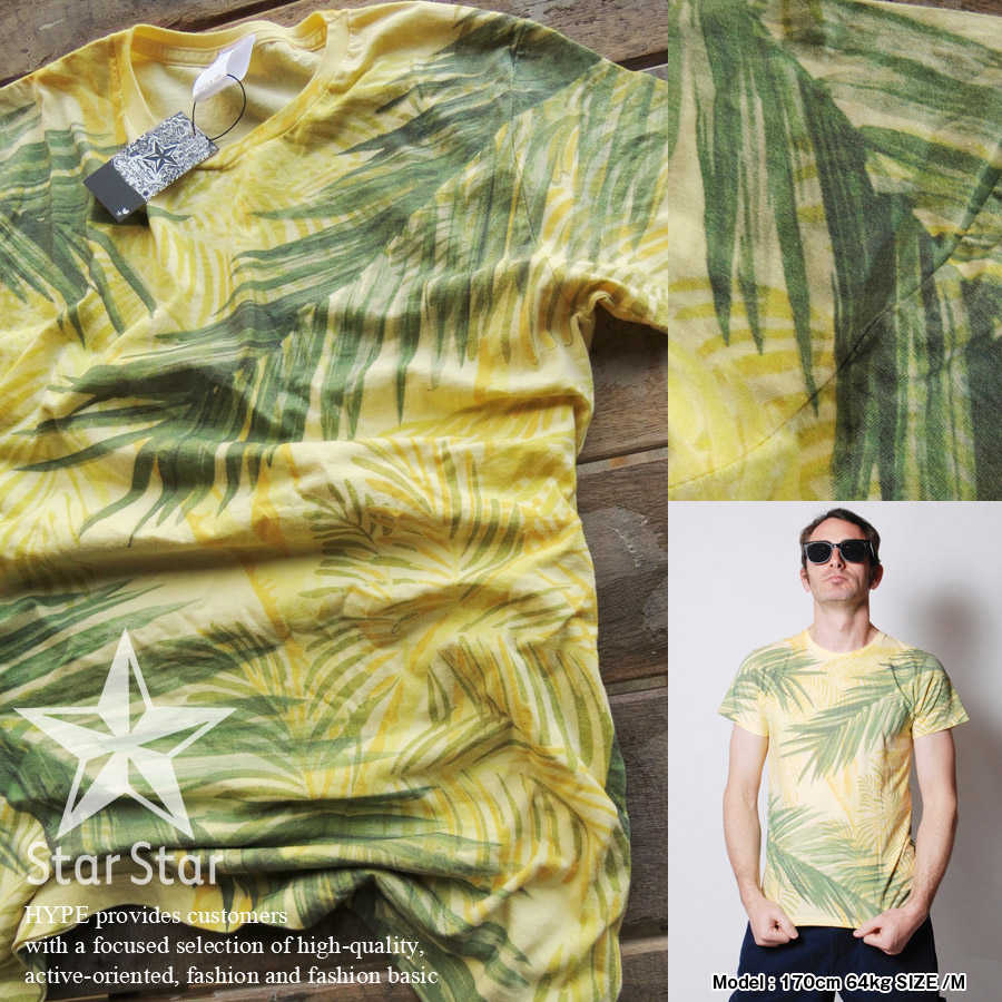 STARSTAR(スタースター) 泥棒日記 Tシャツ 半袖 メンズ 総柄 LA0803 日本製プリント メンズファッション トップス【あす楽対応】【YDKG-k】【kb】【H-TS】■02150415【ss30】