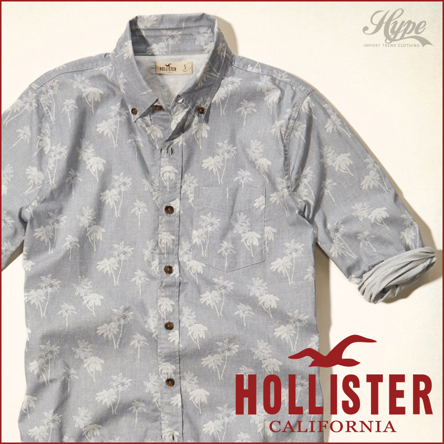 hollister casual shirts