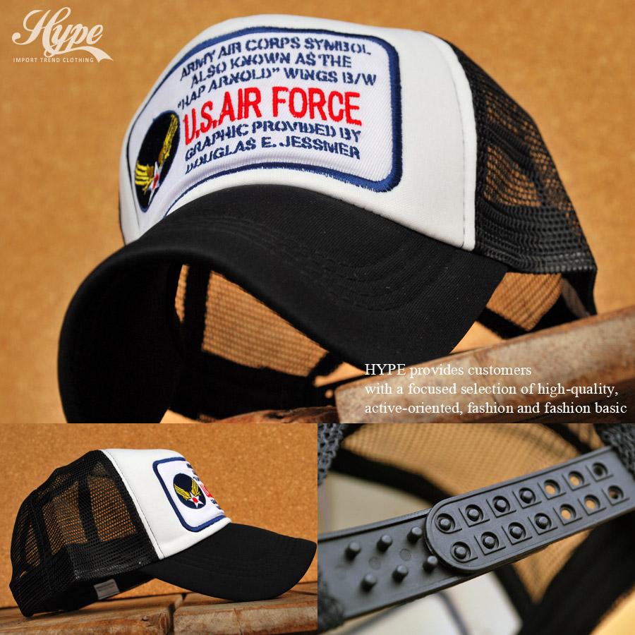 46602254e3654 hype  Cap U. S. Air Force Hat baseball cap men women s applique ...