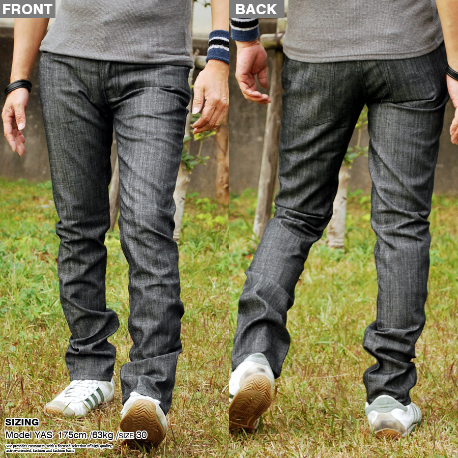 Nudie Jeans牛羚D牛仔裤人细长的直率的粗斜纹布42161-1347-545 Grim Tim DRY CLEAN NAVY
