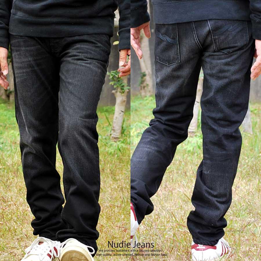 【在庫処分】Nudie Jeans ヌーディージーンズ メンズ Steady Eddieストレート デニム ボトムスロング 42161-1119-482【bo50】【170701s】