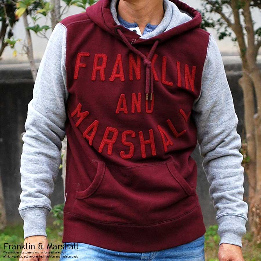 フランクリンマーシャル FRANKLIN & MARSHALL パーカー メンズ 42181-4253-656【FR50】【170701s】