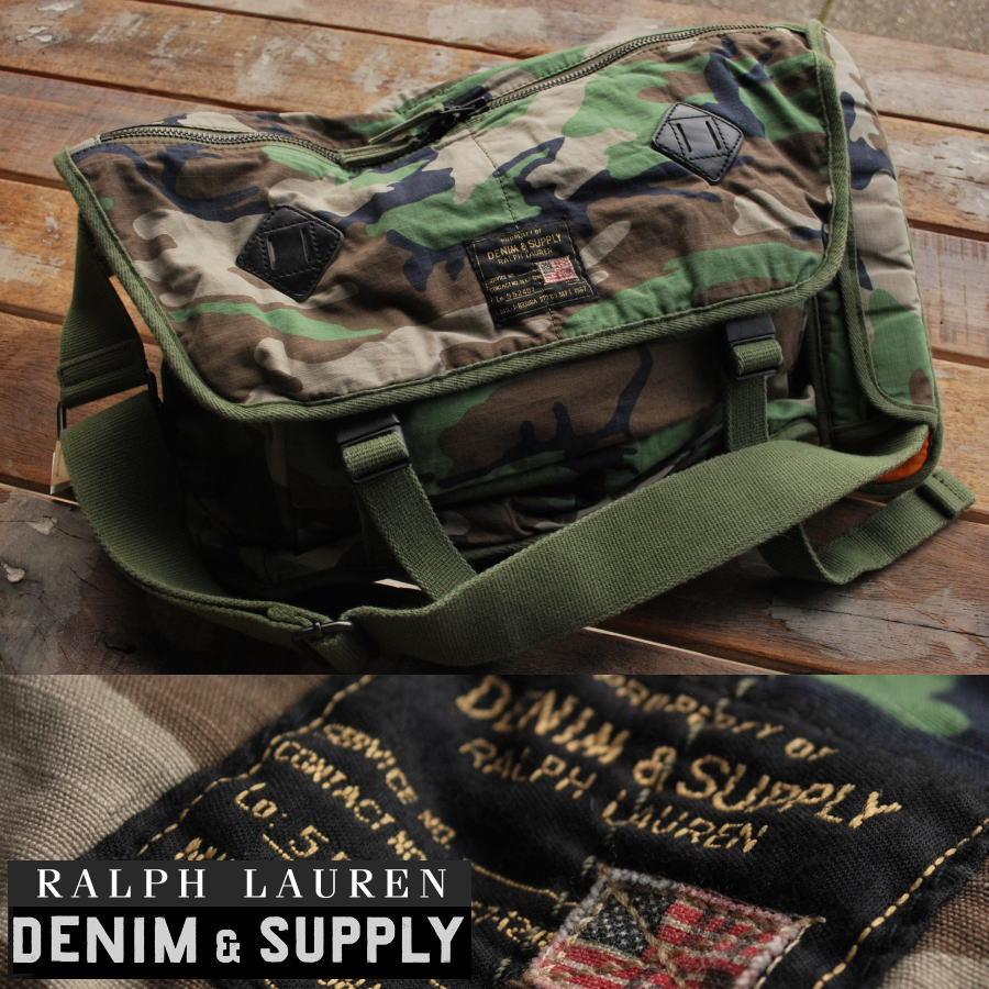 hype  Shoulder bag 100% regular Ralph Lauren DENIM  amp  SUPPLY ... 92378d8a31e3d