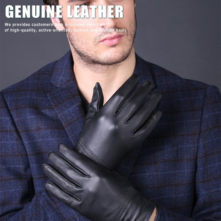 注文後の変更キャンセル返品 お洒落な本革手袋 スタイリッシュな装いに ^^ 羊革 本革 手袋 メンズ LEATHER セール特別価格 GENUINE ALI ■04161103 7998221 グローブ 170701s