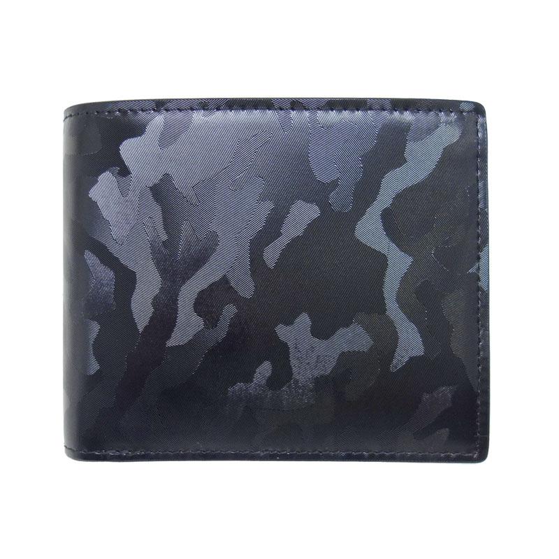 本革 二つ折り短財布 コードバンウォレット ピー・アイ・ディー PID 25242 (限定色迷彩)【Y_KO】【LO】【P10】