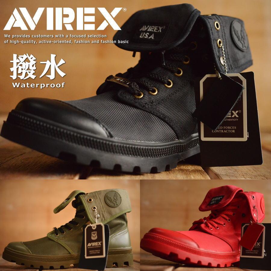 AVIREX 送料無料 SCORPION HI スコーピオン アビレックス ブーツ メンズ レディース 正規品 アヴィレックス 本革×ナイロン レザー AV3402 大きいサイズあり【Y_KO】 1020sai