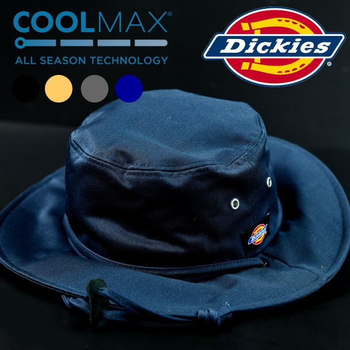 DickiesよりDickies 874ツイルを使用したキャップが登場 ^^ 冷感 速乾 撥水 多機能 サファリハット ハット 新登場 メンズ レディース ブランド Dickies ディッキーズ アウトドア 新作からSALEアイテム等お得な商品 満載 NEK 送料無料 キャンプ 14777900 874 アドベンチャーハット COOLMAX 撥水加工 多機能素材 帽子