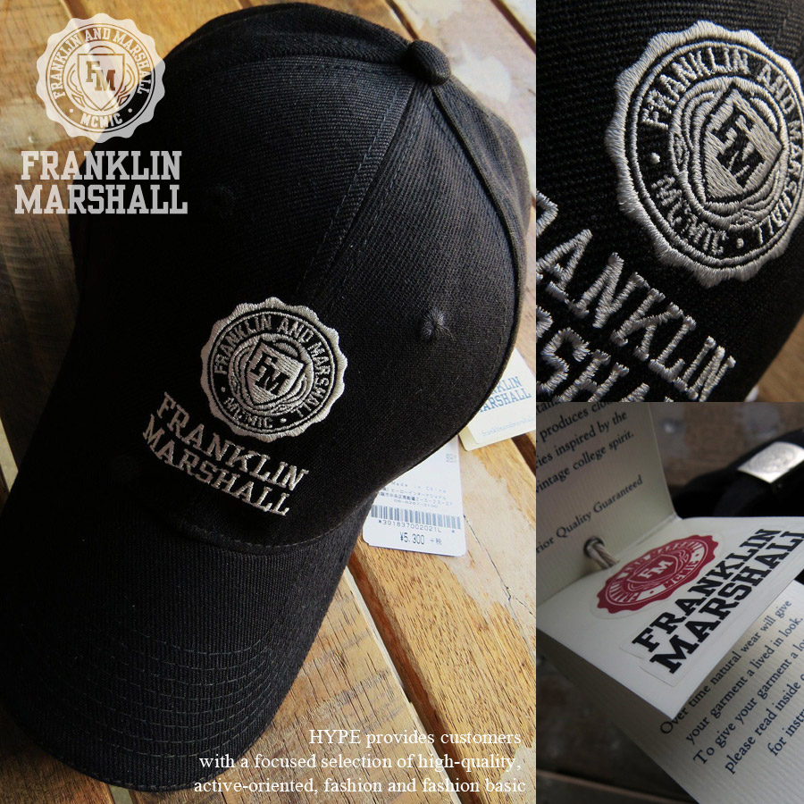 hype  Franklin Marshall Hat mens Cap casual genuine FRANKLIN  amp ... c0c422daebc