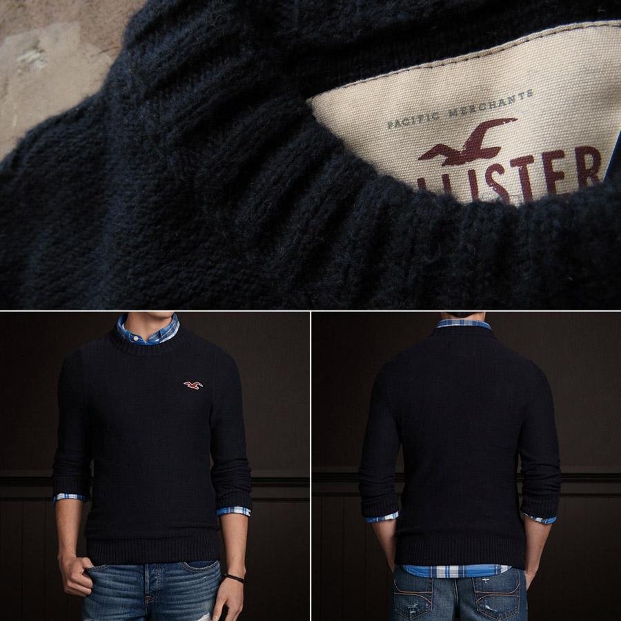 hollister crew neck sweater