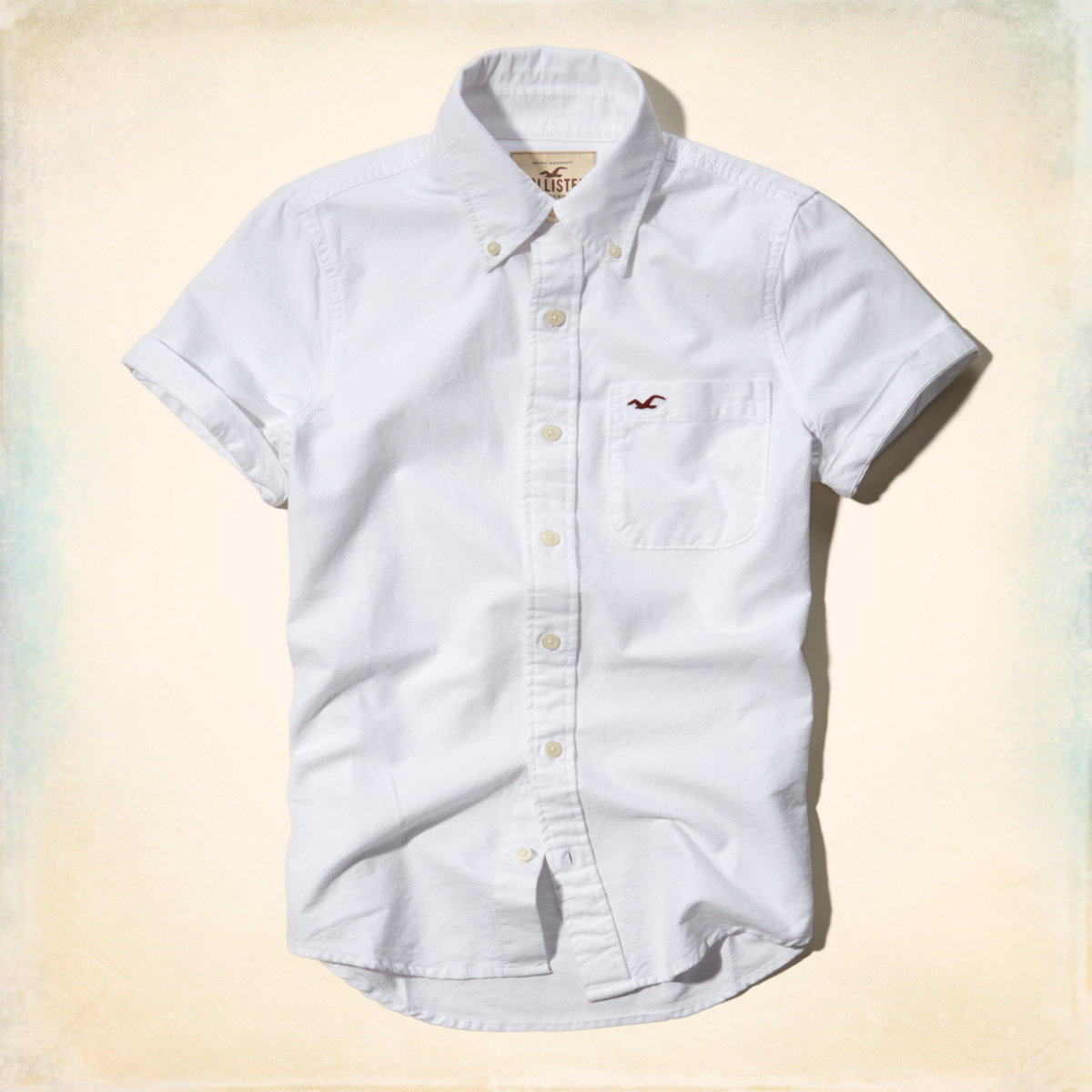 Hype Hollister Casual Shirt Men S Button Down Shirts Genuine Short