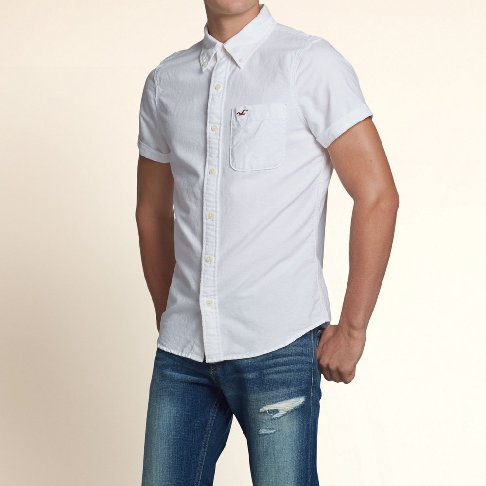 hype | Rakuten Global Market: Hollister casual shirt men's button ...