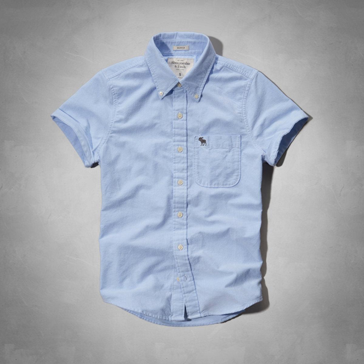 hype | Rakuten Global Market: Abercrombie shirt men's short sleeve ...