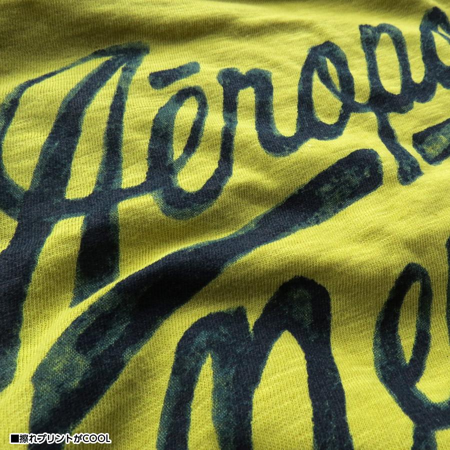 Aeropostale T shirt mens graphic Tee short sleeve mens fashion tops 6001-4462-303 AEROPOSTALE yellow green ■ 02140808
