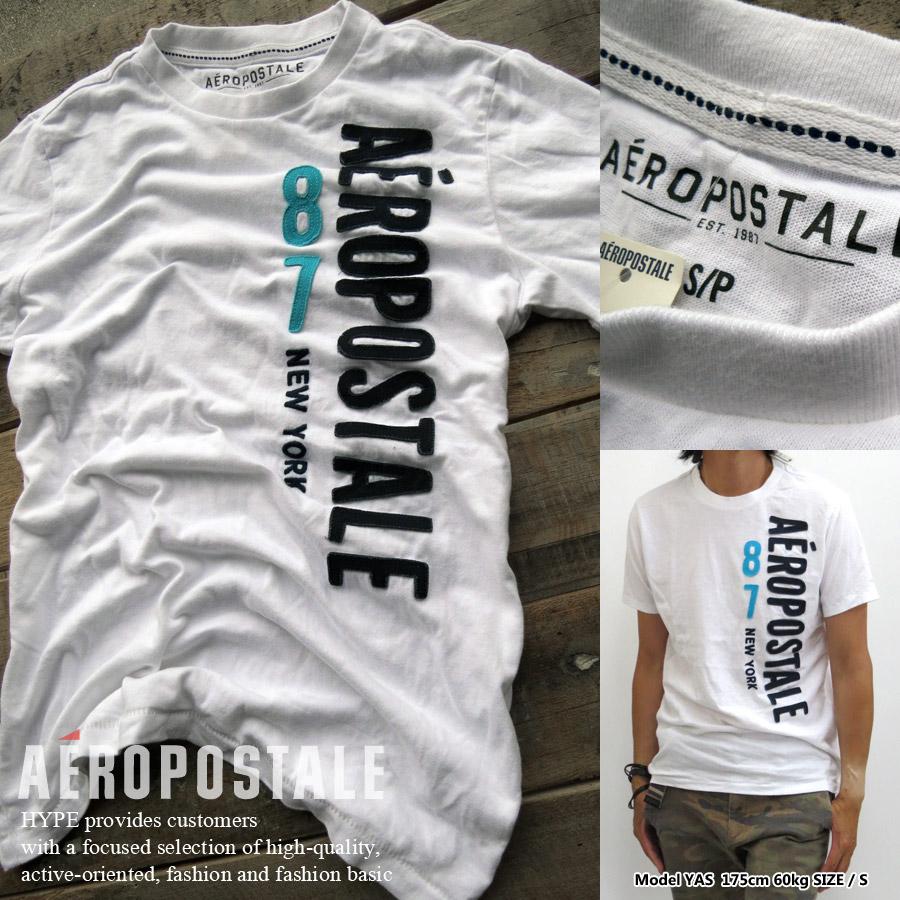 64541df6 Aeropostale genuine T shirt men's applique short sleeve mens fashion tops  6005-4129-102 ...