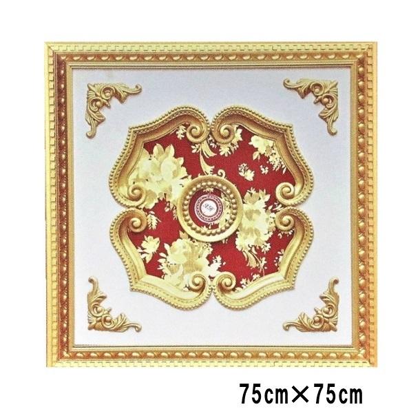 シーリングメダリオン シャンデリア装飾 アンティーク 送料無料 おしゃれ ロマンチック 姫 インテリア ロココ調