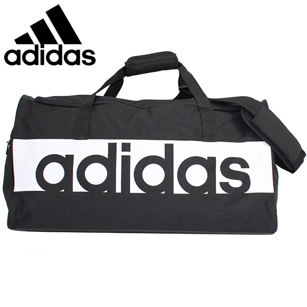 49ae98d9ca adidas Adidas LINEAR LOGO TEAM BAG linear logo team bag rucksack bag BVB06  S99959 44L medium size black men gap Dis present gift commuting attending  school