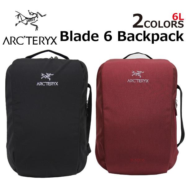 ARCTERYX アークテリクス Blade 6 Backpack ブレード 6 バックパックリュック リュックサック バッグ メンズ レディース 6L 16180プレゼント ギフト 通勤 通学 送料無料