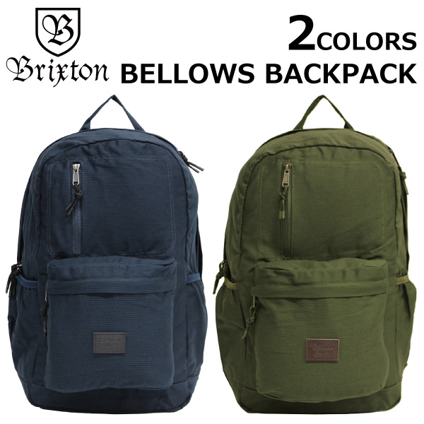 BRIXTON ブリクストン BELLOWS ACKPACK ベロー バックパック メンズ B4 05155プレゼント ギフト 通勤 通学 送料無料