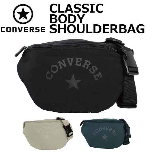 d87f662624 CONVERSE Converse CLASSIC BODY SHOULDERBAG classical music body shoulder bag  bum-bag men gap Dis 17946300 present gift commuting attending school