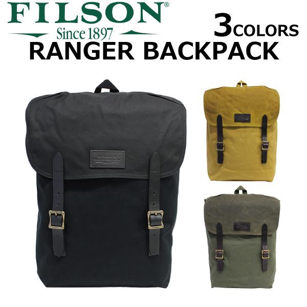 FILSON フィルソン RANGER BACKPACK レンジャーバックパック バックパックデイパック リュック リュックサック バッグ メンズ レディース B4 70381プレゼント ギフト 通勤 通学 送料無料