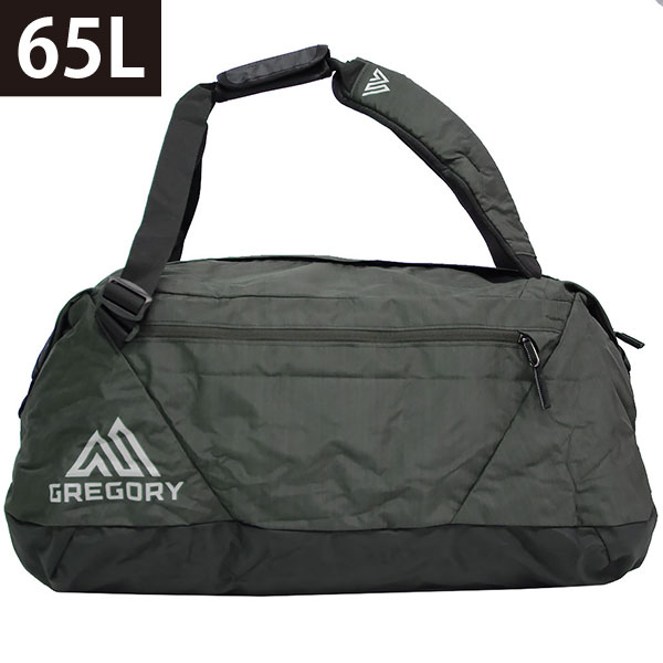 GREGORY Gregory STASH DUFFEL 65L stuss duffel duffel bag rucksack backpack  shoulder bag 3WAY trip travel men gap Dis 65L 65900 0614 shadow black  present ... 068a1c5c842d3