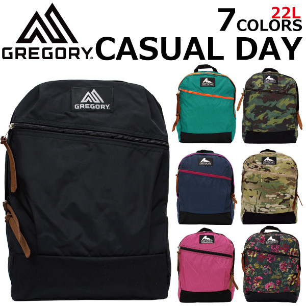 GREGORY   Gregory CASUAL DAY   casual day rucksack   backpack   bag   bag  men s   women s black 58aa0b48babd3