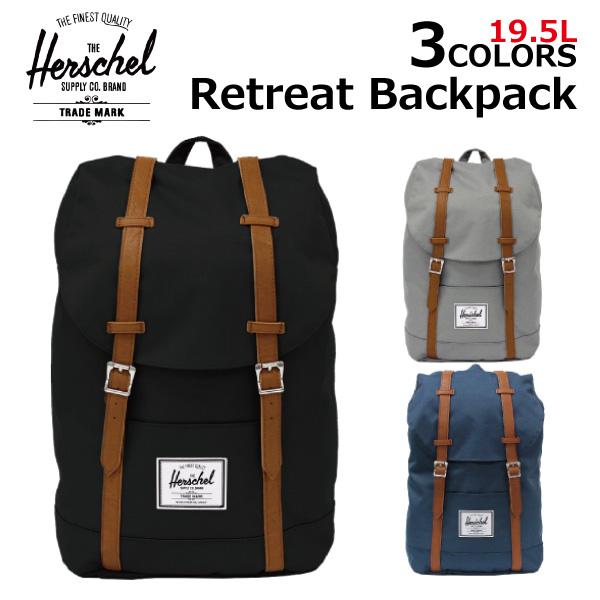 b19e8954e1f Under Heisei SALE holding! HERSCHEL SUPPLY Hershel supply Retreat Backpack  re-treat backpack rucksack rucksack backpack day pack bag men gap Dis B4  19.5L ...