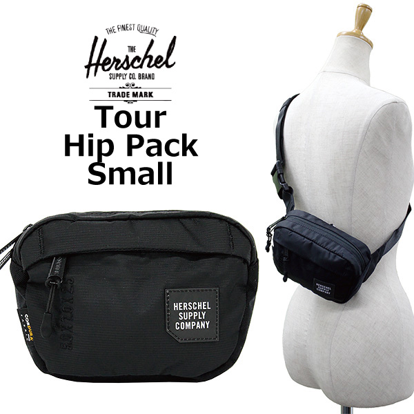HERSCHEL SUPPLY Hershel supply Tour Hip Pack Small tour hips pack Small  body bag bum-bag hips bag bag men gap Dis 1L 10 33a3bf4bfc715