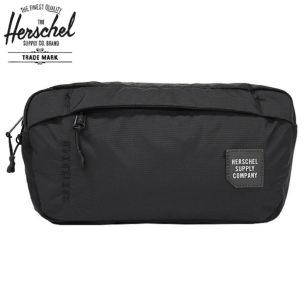 HERSCHEL SUPPLY Hershel supply Tour Hip Pack Medium tour hips pack medium  body bag bum-bag hips bag bag men gap Dis 10L 10,335-01174 black present  gift ... 3a38d33a94