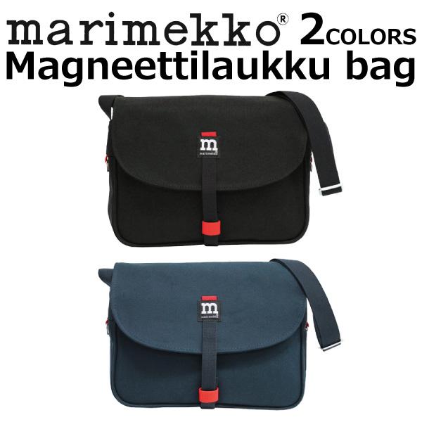marimekko マリメッコ Magneettilaukku bag マグネッティラウック バッグショルダーバッグ 斜めがけ キャンバス レディース B5 40954プレゼント ギフト 通勤 通学 送料無料