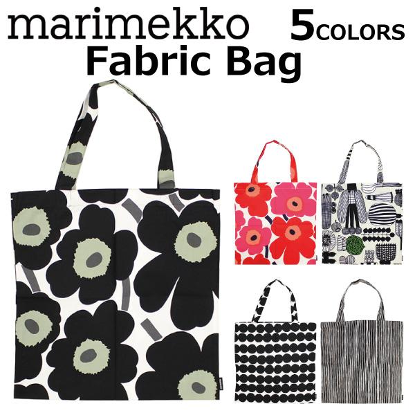 Marimekko マリメッコ Fabric Bag ファブリックバッグトートバッグバッグハンドバッグエコバッグウニッコキャンバス Whole Pattern Lady S B4 Present Gift Commuting