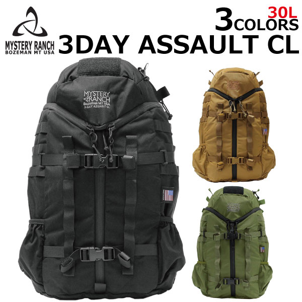 MYSTERY RANCH ミステリーランチ 3Day Assault スリーデイアサルト バックパックリュック リュックサック バッグ メンズ ミリタリー 30L B4プレゼント ギフト 通勤 通学 送料無料
