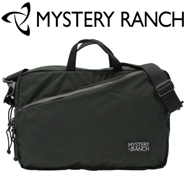 MYSTERY RANCH/ミステリーランチ One Up ワンナップ ショルダーバッグブリーフケース メンズ レディース A3 14L ブラック プレゼント ギフト 通勤 通学 送料無料