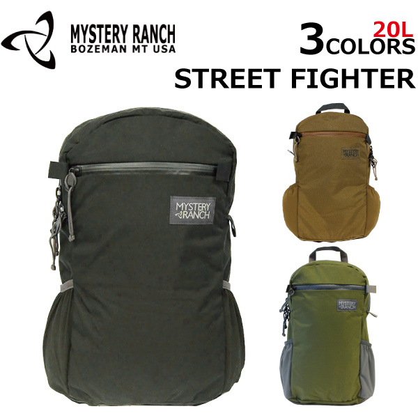 MYSTERY RANCH ミステリーランチStreet Fighter ストリートファイターリュックサック バックパック メンズブラック プレゼント ギフト 通勤 通学 送料無料