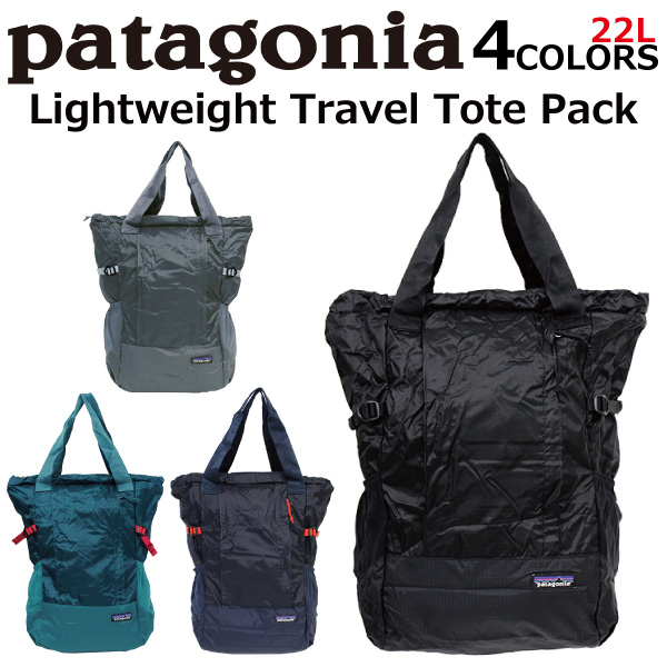 Patagonia Lightweight Travel Tote Bag Pack 2way Rucksack Lady Men 22l A4 48808 Present