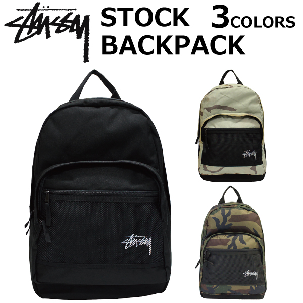 3ca3d86397 STUSSY ステューシーSTOCK BACK PACK stock backpack backpack rucksack men B4 13301  present gift commuting attending school